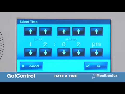 How to Set the Date and Time on 2GIG go control Security System? from YouTube · Duration:  1 minutes 4 seconds