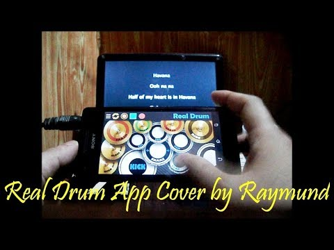 Camila Cabello ft. Young Thug - Havana (Real Drum App Cover by Raymund)