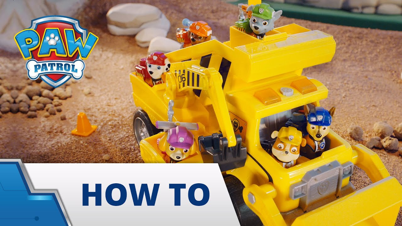 PAW Patrol | How-To: Ultimate Rescue Construction Truck