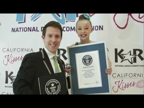 Sophia Lucia Sets NEW OFFICIAL Guinness World Record