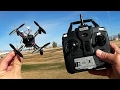 DM002 FPV DIY Drone The Cheap Whoop! Flight Test Review