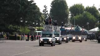 パトカー大行進 平成22年警視庁機動隊観閲式 Tokyo M.P.D. riot police