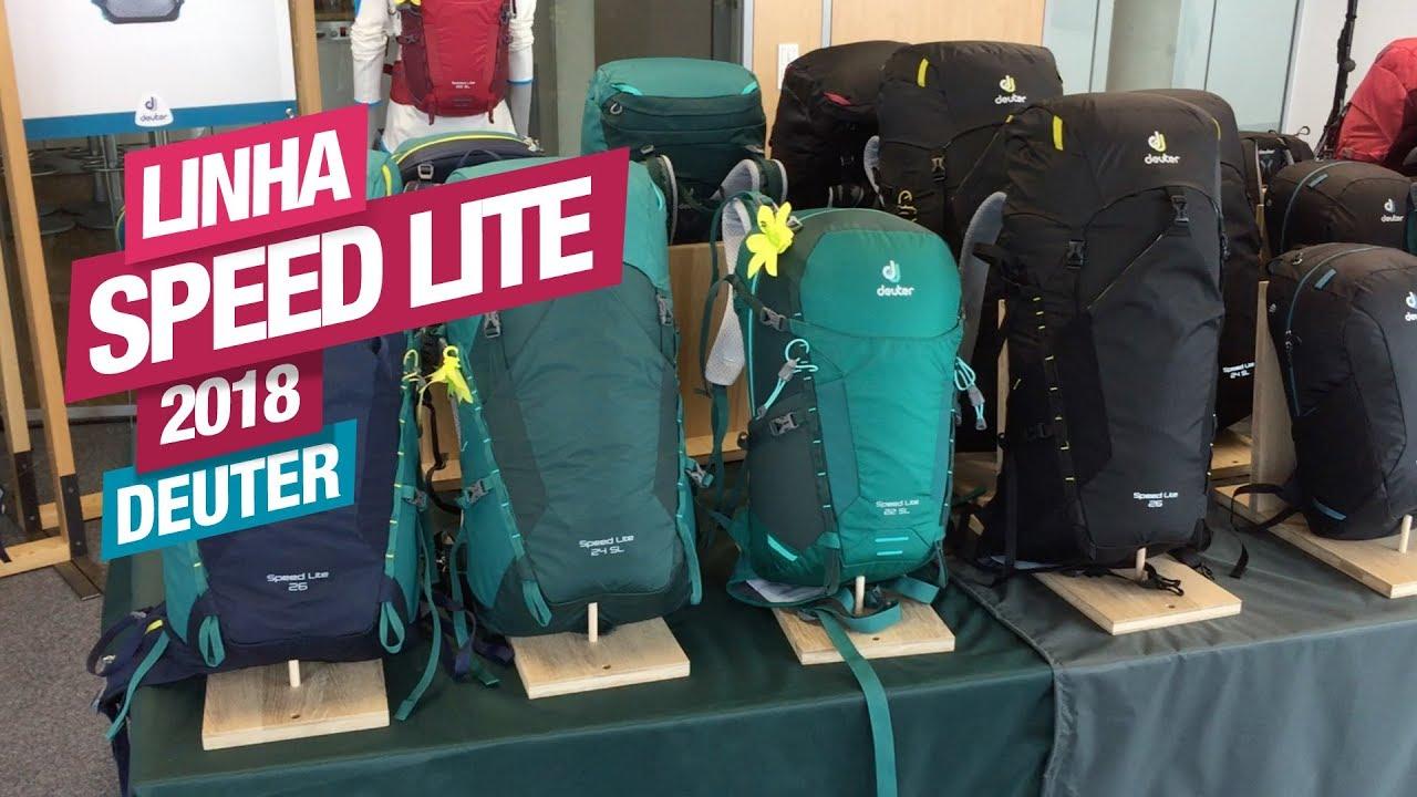 promo codes quality products ever popular Lançamento! Linha Speed Lite Deuter 2018 - Gear Tips