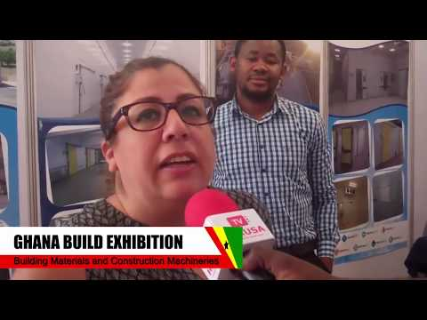 Ebru Caylı Asst  General Manager Termokon Industrial Systems at the Ghana Build Exhibition