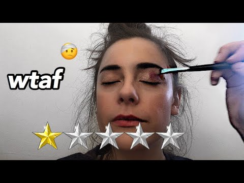 I Went To The WORST Rated Makeup Artist In My City