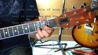 Die a Happy Man ★ Guitar Tutorial ★ Thomas Rhett