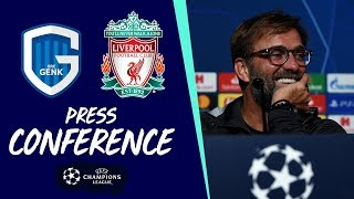 Klopp and Milner's pre-match press conference | Genk vs Liverpool