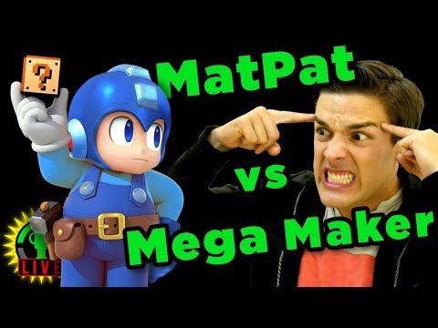 GTLive: READY TO RAGE! | Mega Maker - MatPat plays MegaManMaker
