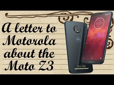 An open letter to Motorola: What\'s up with the Moto Z3?