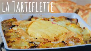 Doubled layered Reblochon cheese tartiflette recipe