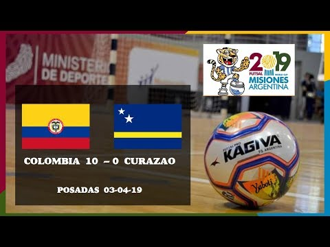 Goles Colombia 10 - 0 Curazao. AMF Mundial Futsal 2019. Futsal World Cup.