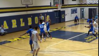 Dylan Kaufman scores on the putback
