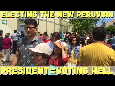 My FRUSTRATING voting experience in  Lima (Vlog 6)