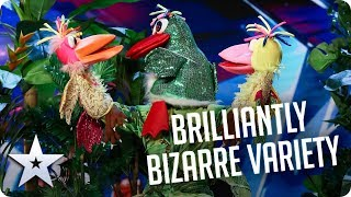 Brilliantly BIZARRE Variety!   BGT 2020