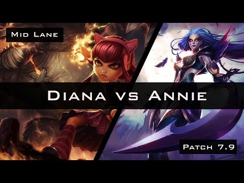 Arcsecond - Diana vs Annie - Patch 7.9