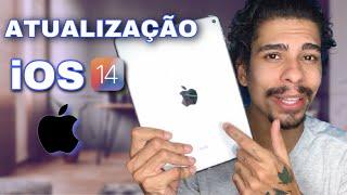 iOS 14 NO iPAD AIR 2 - MINHAS PRIMEIRAS IMPRESSÕES