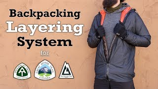 My Backpacking Layering System for 2020 + Budget Items!