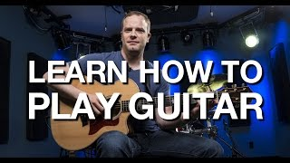 Learn How To Play Guitar - Beginner Guitar Lesson #1