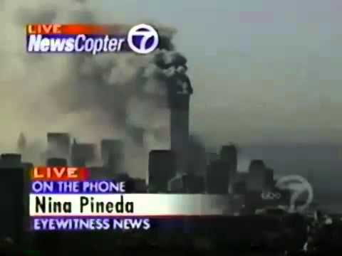 9/11 Eyewitness - Nina Pineda - ground shook booming sound