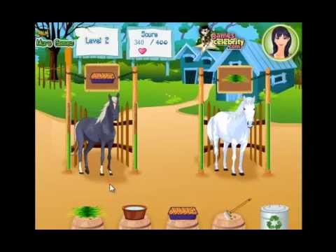 ingrijeste caii la ferma - jocuri cu cai online