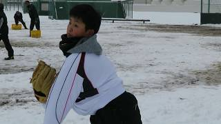 東16丁目フリッパーズの佐藤寛太君(小6)が、中学軟式野球の雄・仙台育英...