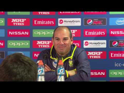 Currnet Line: Pakistan v  South Africa   Post Match Press Conference