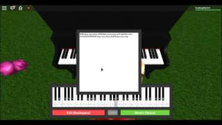 Fur Elise On ROBLOX Piano { TUTORIAL } (Read Description)