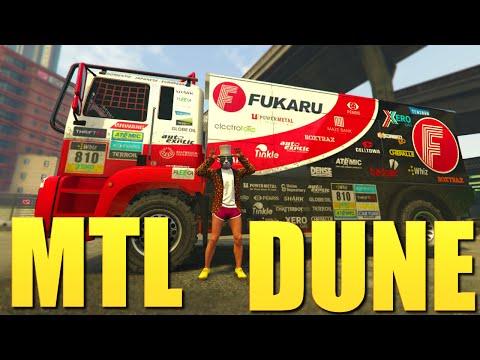 NEW DLC CAR 1ST IMPRESSIONS ! - MTL DUNE HONEST REVIEW ! (GTA DLC DAY)