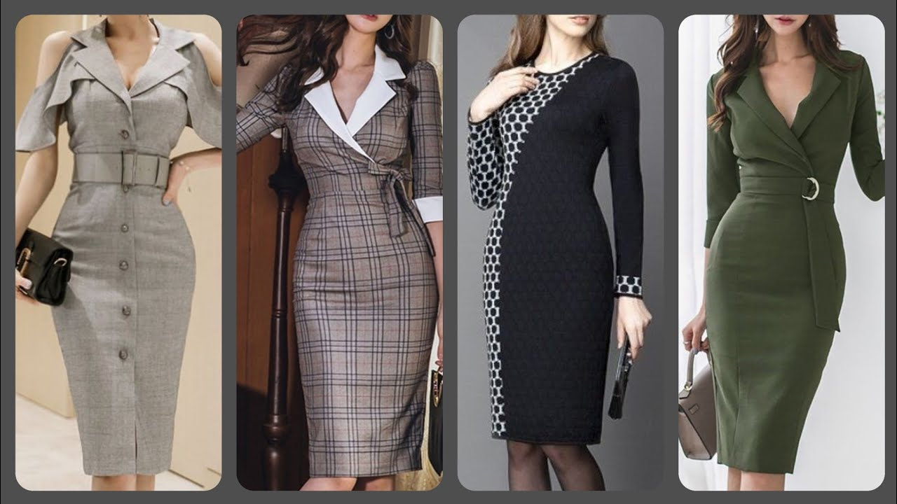 stylish 2020 casual daily wear office wear bodycon