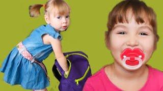 Веселая история как Айлина превратилась в малыша    Ailina Turned Into A Baby