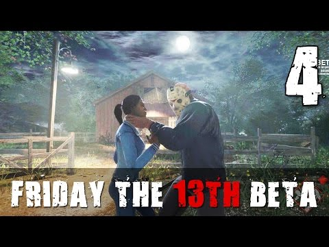 [4] Let's Play Friday The 13th: The Game Beta w/ GaLm
