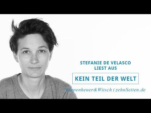 Stefanie De Velasco Liest Aus