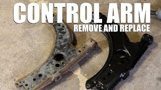 How to Replace a Lower Control Arm
