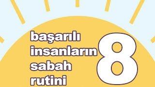 Gambar cover Zaman yönetimi için 8 sabah rutini | Uzmanların önerdiği 8 alışkanlık | 8 maddede mutluluğun sırrı