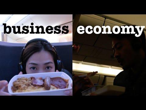 s&j CX economy VS business VS premium economy 經濟艙VS商務艙