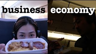 s CX economy VS business VS premium economy 經濟艙VS商務艙