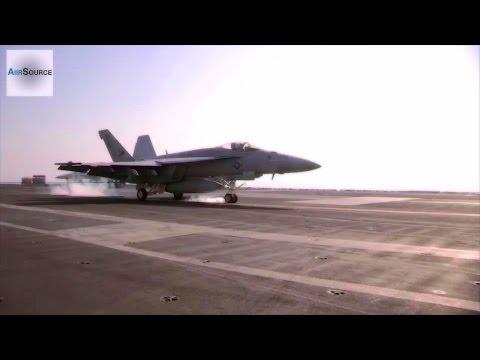 F-18 Hornets Landing/Takeoff