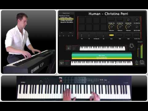 MainStage 3 Live Performance - Keyboard - Laptop Pad Controller