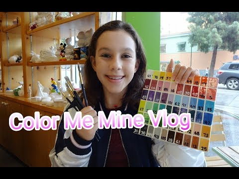 Color Me Mine Vlog