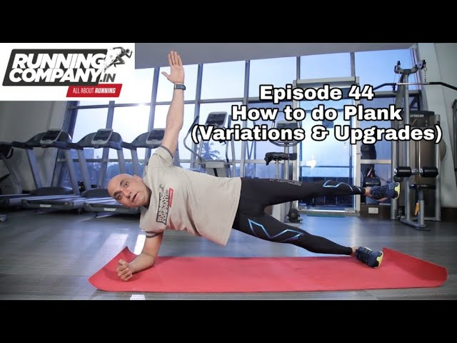 44 episode How to do Plank (Variations & Upgrades)