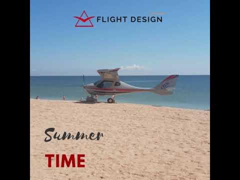Summer time - Flight Design CTLSi at the seashore