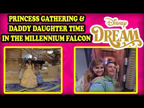 Disney Cruise Princess Gathering on the Dream! Star Wars Kids Club, Goofy Golf Kids Challenge!
