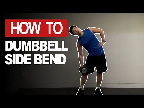 Correct Technique for Dumbbell Side Bend