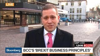 BCC Says Businesses Not That Pessimistic About Brexit