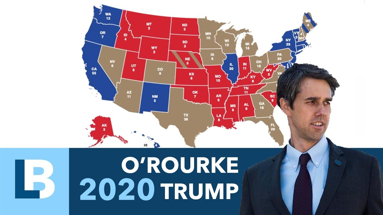 2020 Election Prediction: Beto V  Trump (Feb 2019)