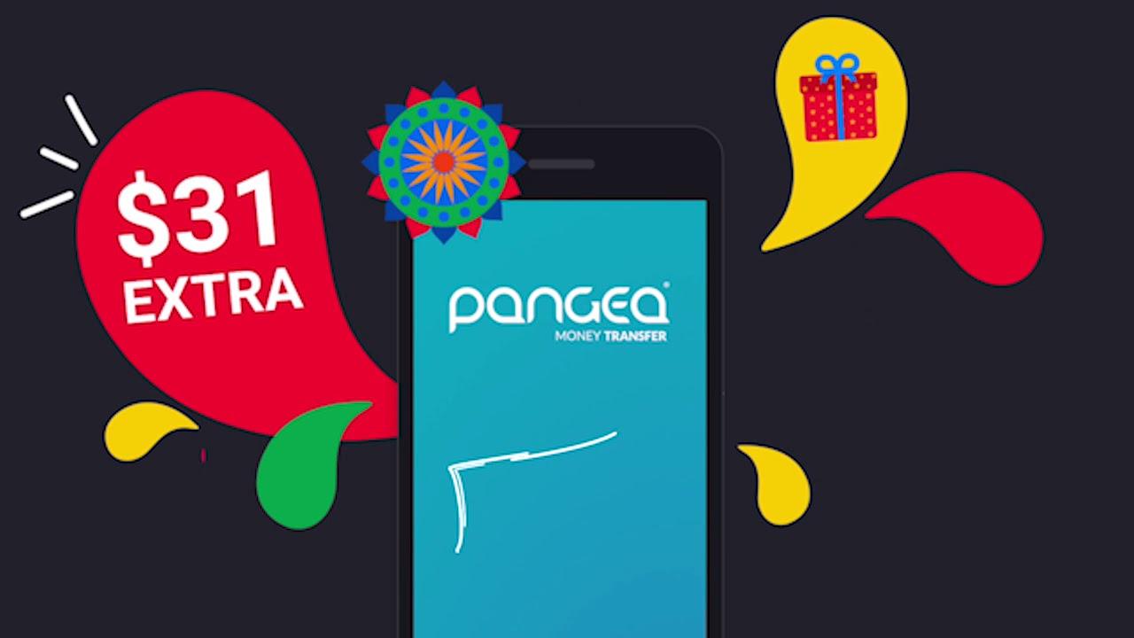 Pangea Money Transfer - MONEY promo Code-Dec2017