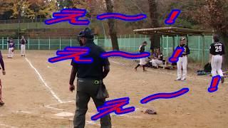 FELIXの草野球のある風景。 7-1の大量リードも、最終回7-6まで 追いあげられ、二死一二塁のピンチ・・・・。 しかし、時間切れでゲームセ...