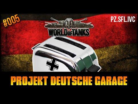 """Pz.Sfl.IVc  - Projekt: """"Deutsche Garage"""" #005 - World Of Tanks"""