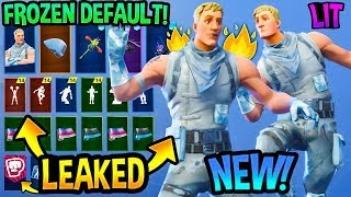 "*NEW* Frozen ""Default Skin"" Jonesy Showcase With All Leaked Danes & Emotes..!"