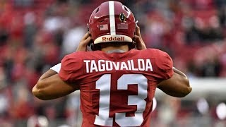 Alabama QB Tua Tagovailoa || 2018 Season Highlights